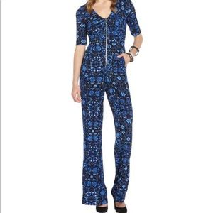 Nanette Lepore Zip Up Jumpsuit